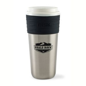 Thermos® Coffee Cup Insulator - 20 Oz. Silver