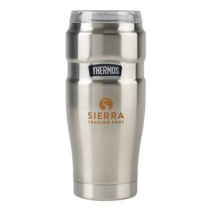Thermos® Stainless King™ Tumbler with 360° Drink Lid - 32 Oz. Silver