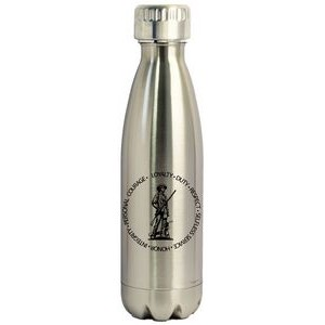 16 Oz. Stainless Steel Vacuum Insulated Thermal Bottle